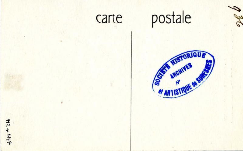 anonyme : Suresnes. Groupe scolaire Voltaire. Habitation des Directeurs et Directrices