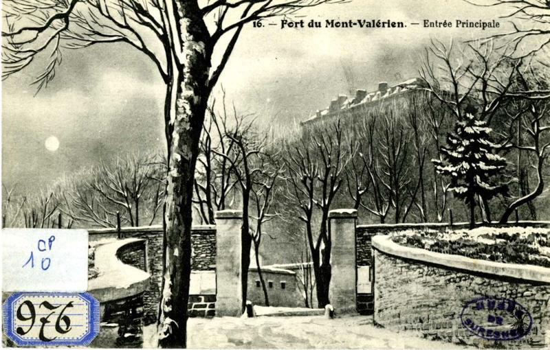 anonyme : Fort du Mont Valérien. Entrée principale