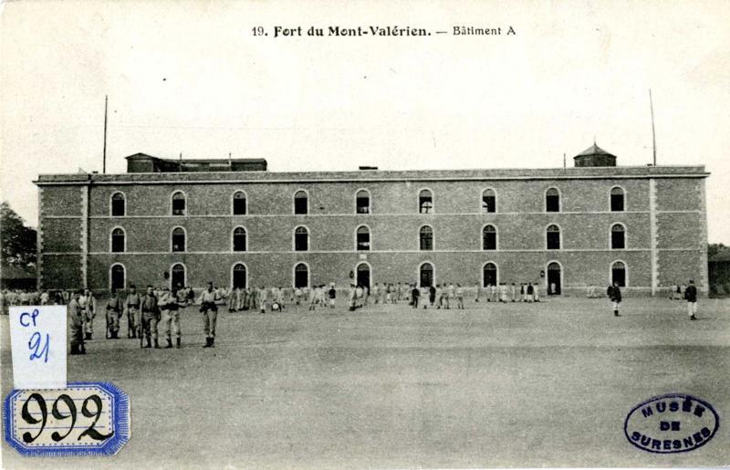Fort du Mont Valérien. Bâtiment A