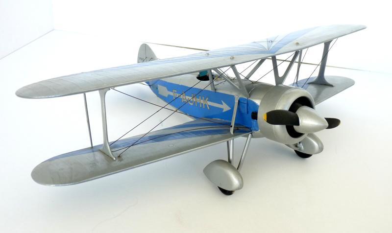 Modèle réduit au 1/20e Biplan Spad-Herbemont de l'aviateur Louis Massotte_0