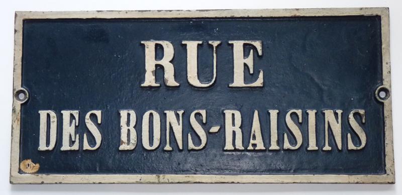 Rue des Bons-Raisins