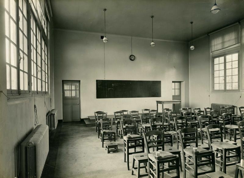 Ecole primaire Edouard Vaillant de la cité-jardins - Salle de dessin de l'école de filles (Titre fictif)_0