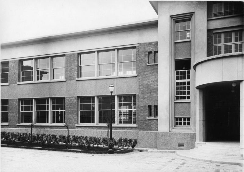 Ecole primaire Aristide Briand de la cité-jardins - Façade intérieure (Titre fictif)_0