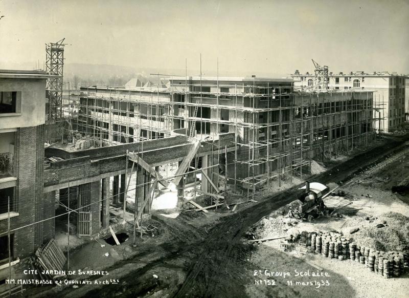 Ecole primaire Aristide Briand de la cité-jardins en construction (Titre fictif)_0