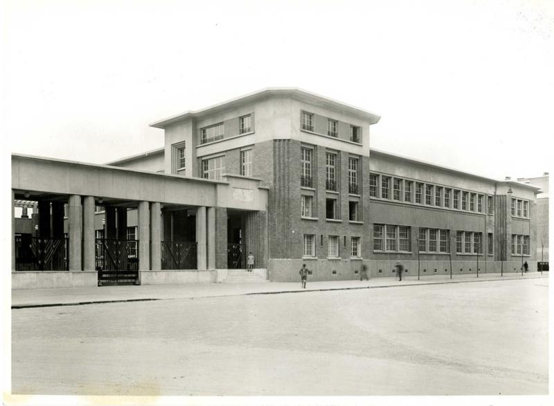 Ecole primaire Aristide Briand de la cité-jardins - Façade principale (Titre fictif)_0