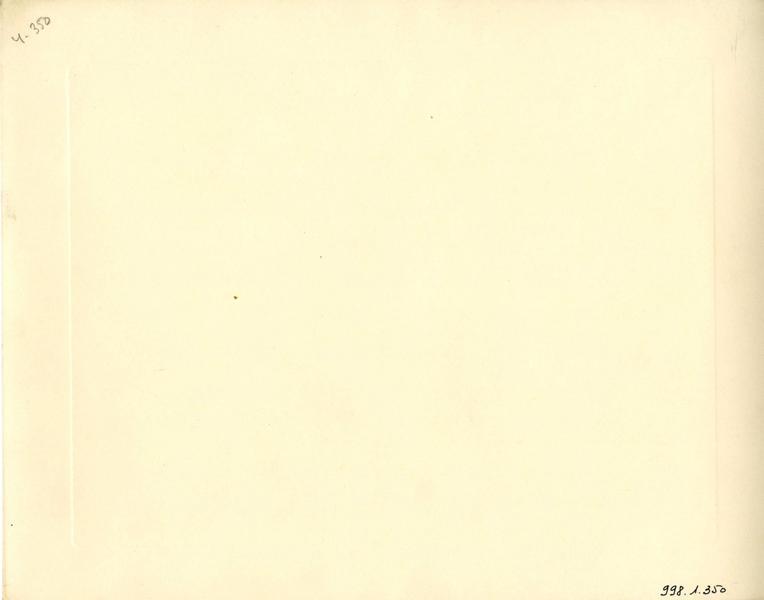 anonyme : Résidence de personnes âgées Locarno de la cité-jardins - Façade de la cour intérieure (Titre fictif)