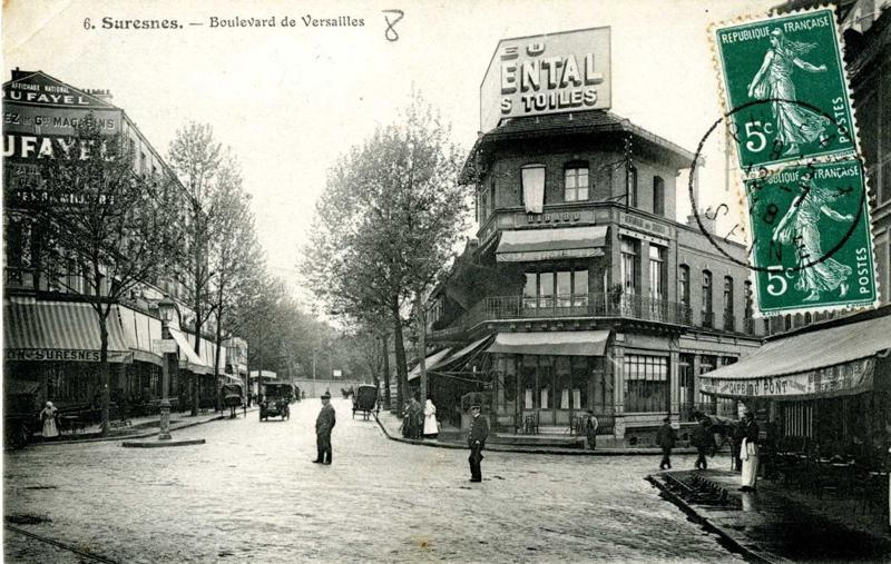 anonyme : Suresnes - Boulevard de Versailles