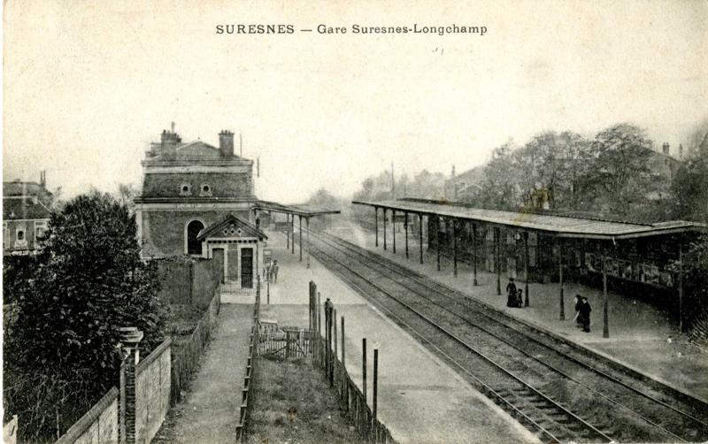 anonyme : Suresnes - Gare Suresnes-Longchamp