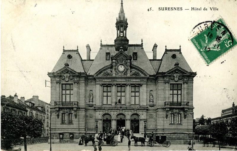 anonyme : Suresnes - Hôtel de Ville