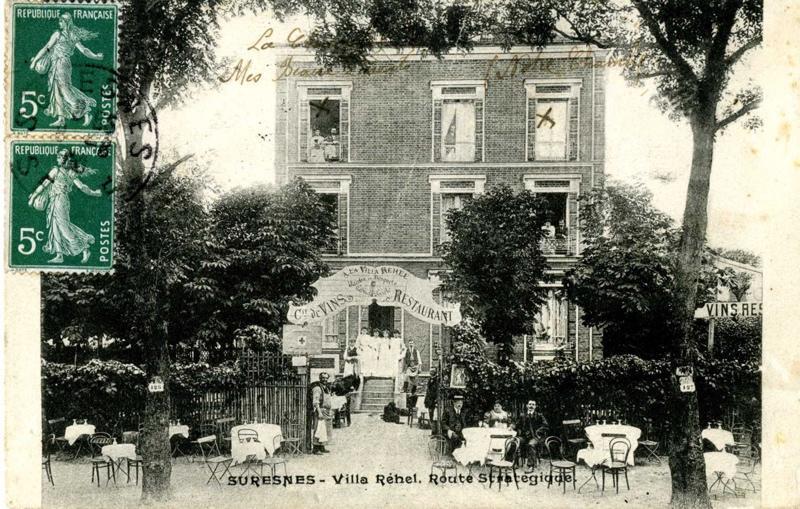 anonyme : Suresnes - Villa Réhel