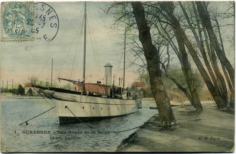 Suresnes - Les Bords de la Seine et les Yachts_0