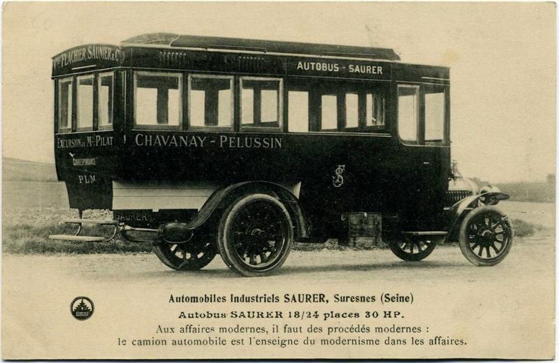 anonyme : Suresnes - Automobiles Industriels Saurer