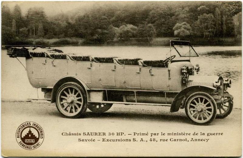 Suresnes - Automobiles Industriels Saurer - Châssis Saurer 30 HP