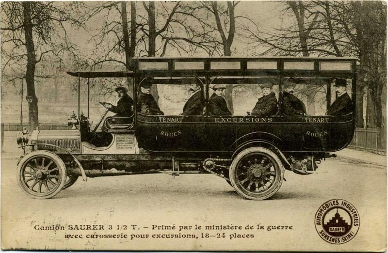 anonyme : Suresnes - Automobiles Industriels Saurer - Camion Saurer 31/2 T