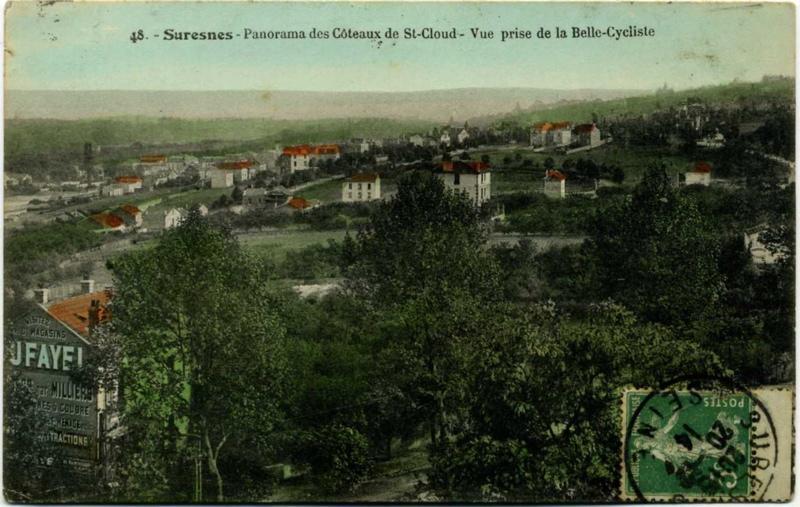 Suresnes - Panorama des Côteaux de St-Cloud