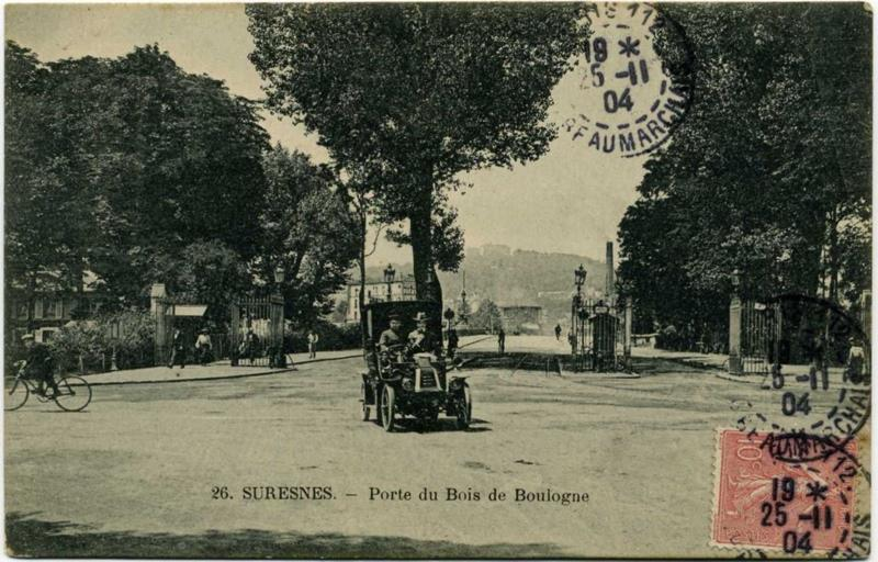 anonyme : Suresnes - Porte du Bois de Boulogne