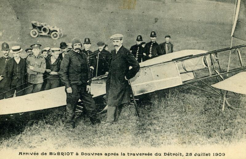 Arrivée de Blériot à Douvres