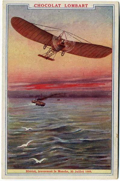 Blériot traversant la Manche, 25 Juillet 1909_0