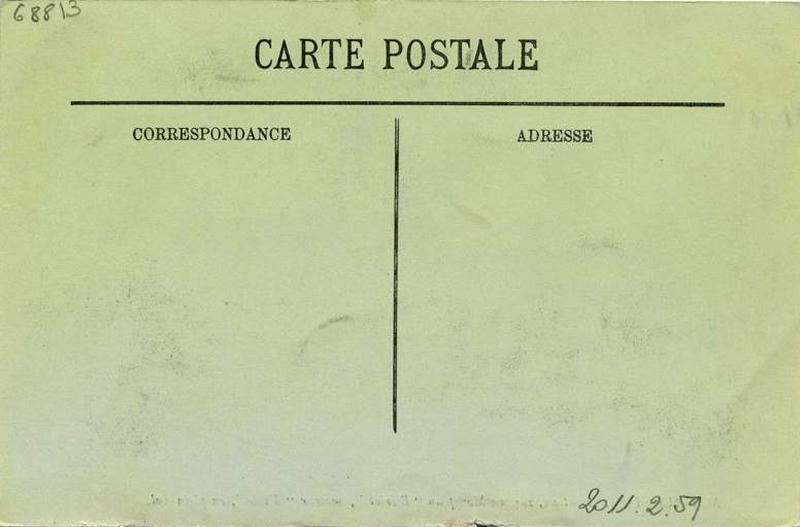 anonyme : M. Daucourt, Aviateur, sur son Monoplan 'Blériot'