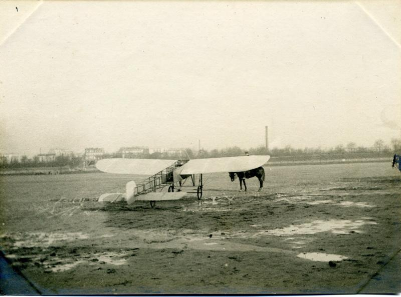 Monoplan Blériot à Issy_0