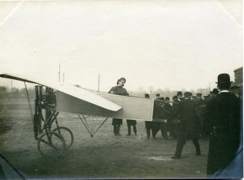 Blériot et son aéroplane