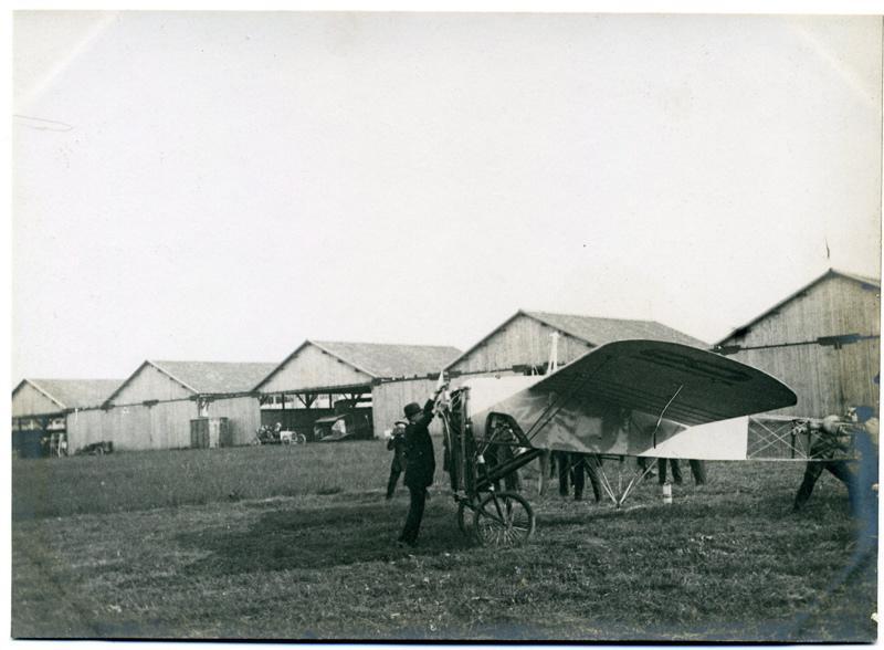 Blériot et son aéronef
