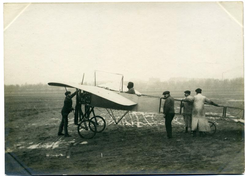 anonyme (photographe) : Blériot à Issy-les-Moulineaux