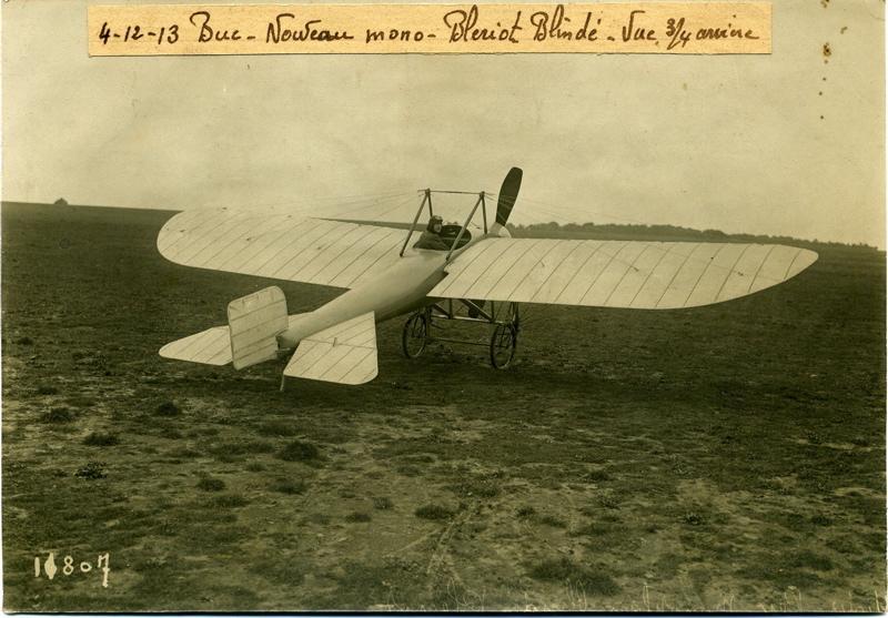 Nouveau monoplan Blériot blindé