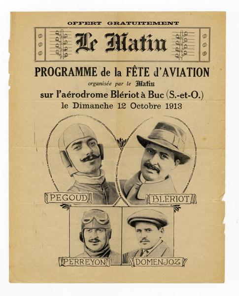 Programme de la Fête de l'Aviation du 12 octobre 1913_0