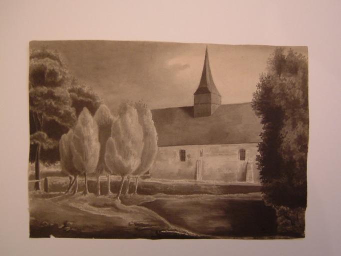 Eglise de Bailholet ; 1831_0