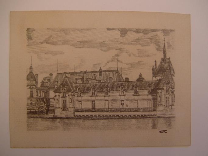 Château (Chantilly ?)_0