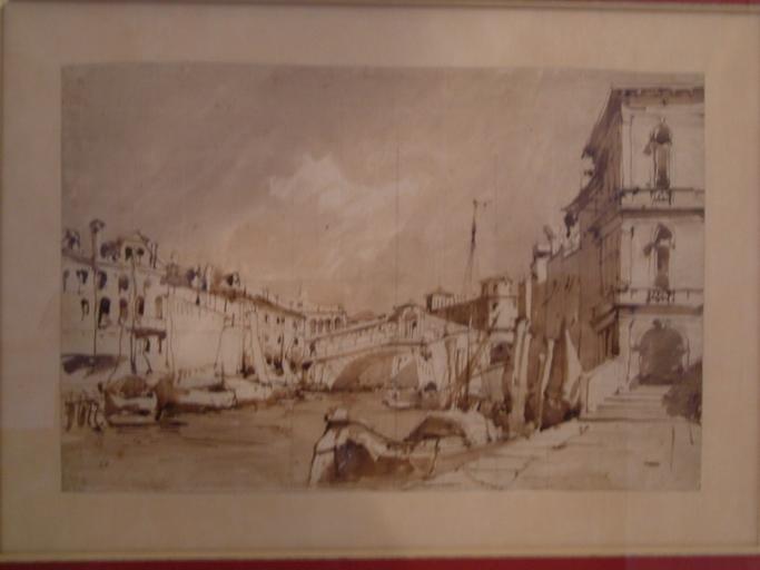 Palais de Manin, sur le Grand Canal à Venise 1833-1835_0