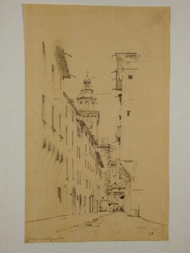Bologne ; La Tour de l'Horloge du Palais public_0