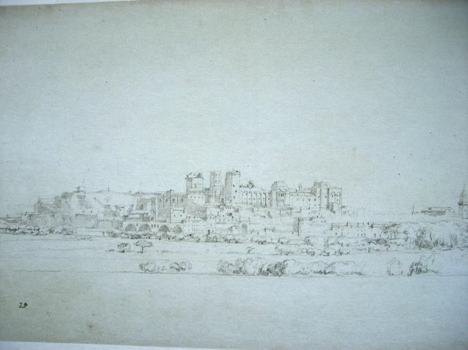 Avignon ; vue générale