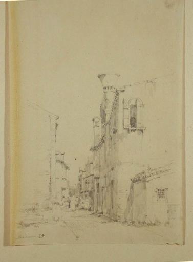 Venise ; ruelle a Malamocco sur le Lido_0