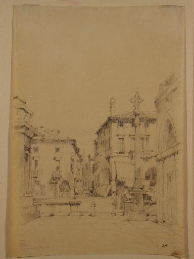 Padoue ; piazza del Santo