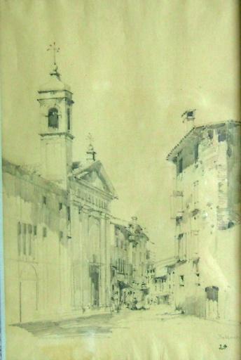 Bassano, ruelle et église_0
