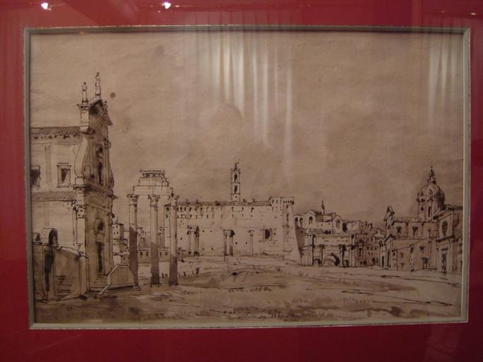 Rome, le Campo-Vaccino (c.1842)_0