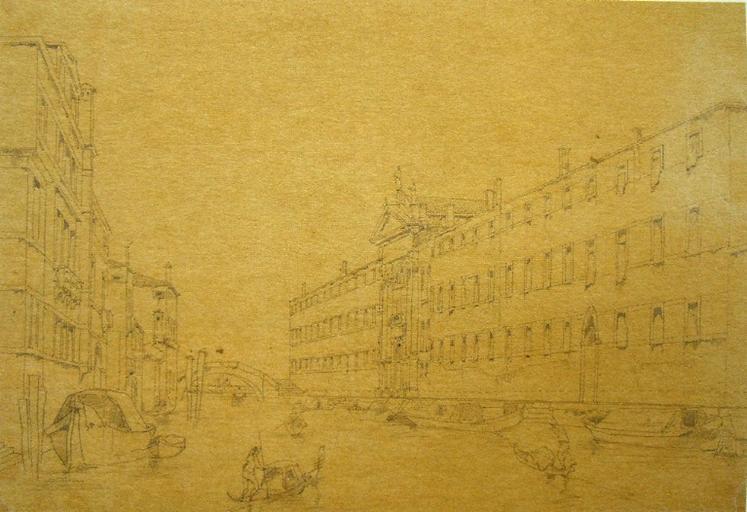 Venise, Hôpital des Mendiants, (c. 1836)_0
