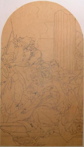 Le martyre de sainte Agathe (d'après Tiepolo)