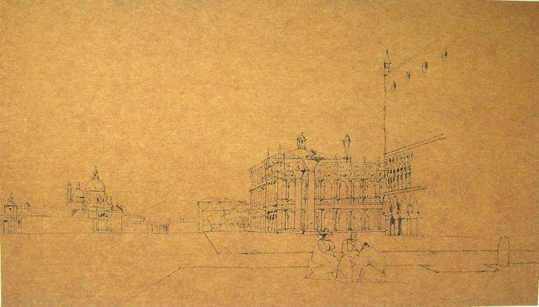 Vue du Palais Ducal à Venise (c. 1833)_0