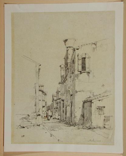 Venise, ruelle à Malamocco, sur le Lido