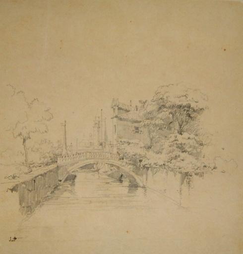 Un canal à Venise dans le quartier de Castello_0