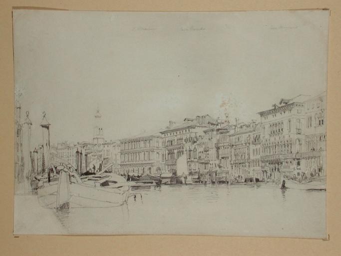 Le Grand Canal à Venise_0