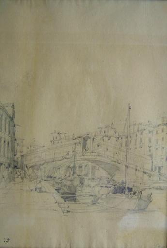Venise le pont du Rialto (c. 1841)_0