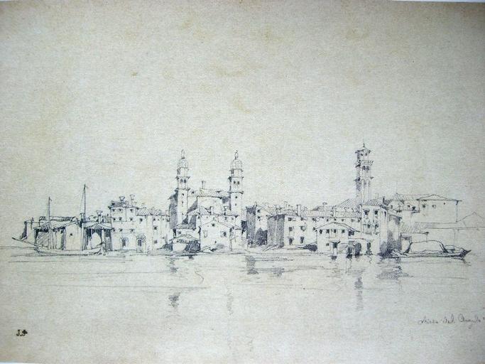 Venise, église de l'Angelo Rafael, sur le canal de la Guidecca