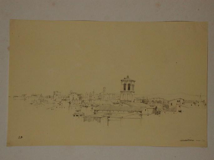 Rome, vue prise du Tempietto de Bramante_0