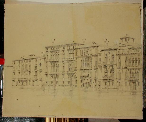 Venise, palais sur le Grand Canal