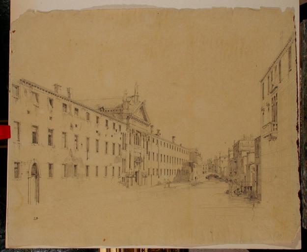 Venise, Hôpital des Mendiants (c.1836)_0