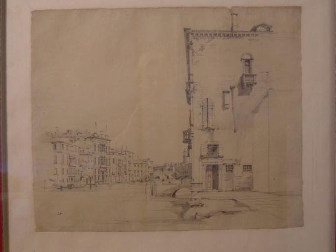 Venise, le Grand Canal et au loin, le pont du Rialto_0